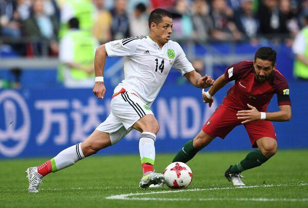 Игровой момент матча Португалия – Мексика