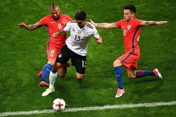 Игровой момент матча Германия – Чили