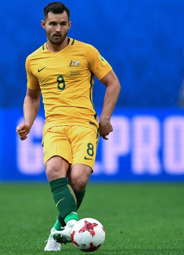 Защитник сборной Австралии по футболу Бейли Райт