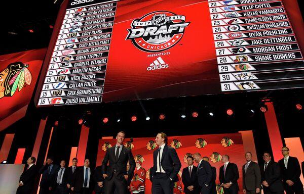 Церемония драфта НХЛ - 2017