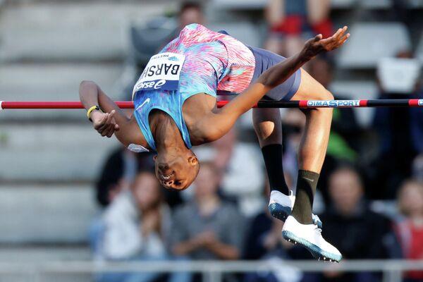 Катарский легкоатлет, прыгун в высоту Мутаз Баршим