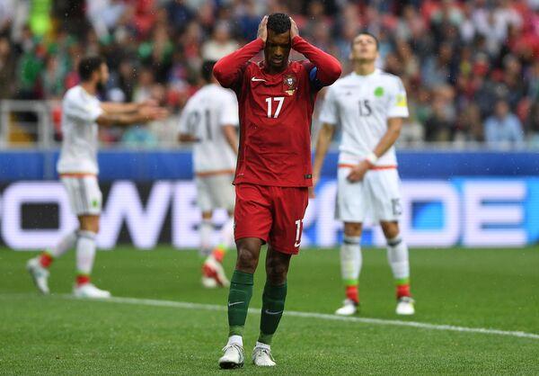 Полузащитник сборной Португалии Нани