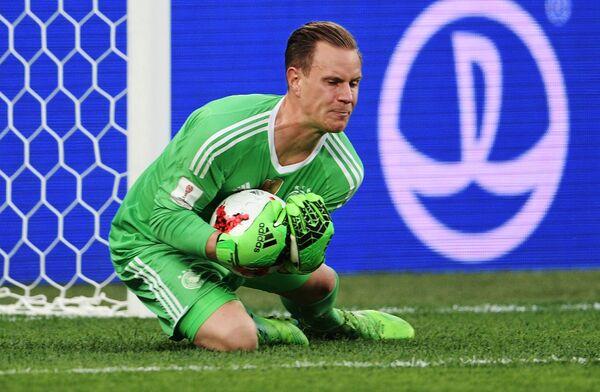 Вратарь сборной Германии по футболу Марк-Андре тер Штеген