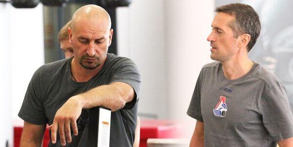 Андрей Козырев (слева) и Андрей Задорожный