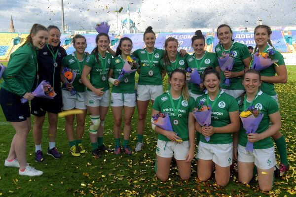 Игроки сборной Ирландии по регби-7
