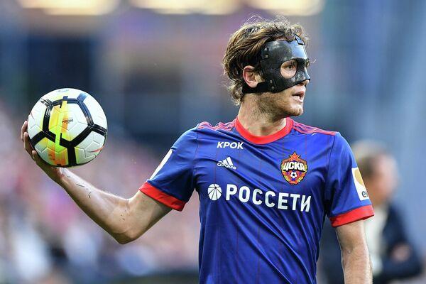 Защитник ЦСКА Марио Фернандес