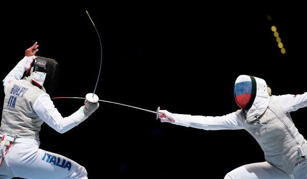 Инна Дериглазова (справа) и Аличе Вольпи
