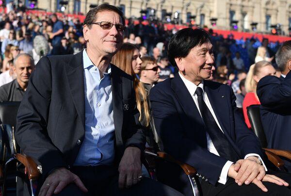 Александр Жуков (слева) и  Чинг-Куо Ву