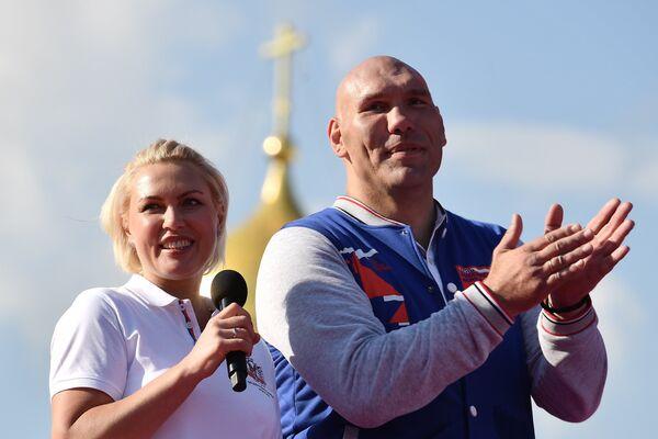 Николай Валуев и Наталья Рагозина