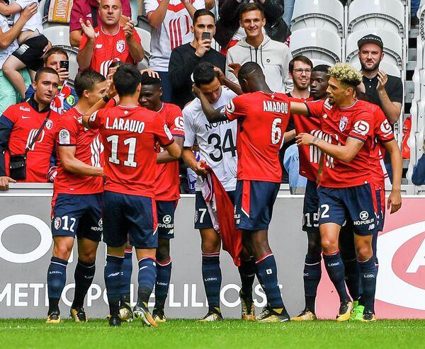 Футболисты французского Лилля
