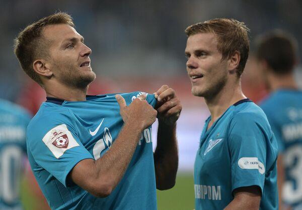 Доменико Кришито (слева) и Александр Кокорин