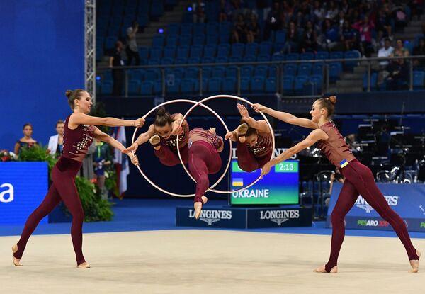 Спортсменки сборной Украины