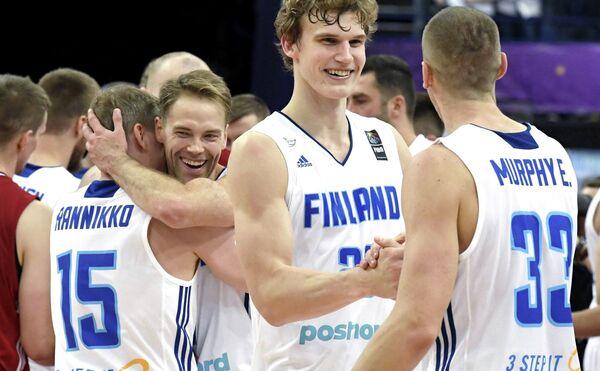 Баскетболисты сборной Финляндии