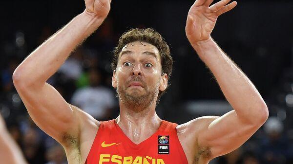Центровой сборной Испании По Газоль