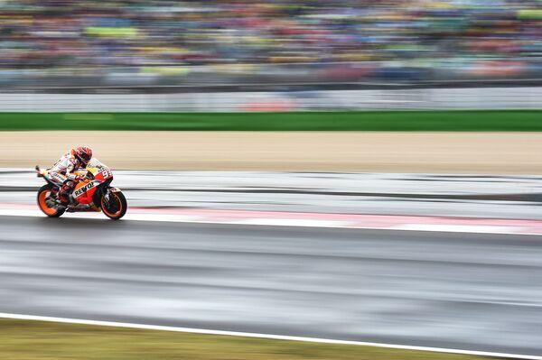 Испанский мотогонщик Марк Маркес из команды Repsol Honda