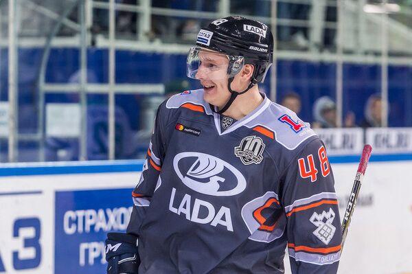 Защитник тольяттинской Лады Кирилл Дьяков