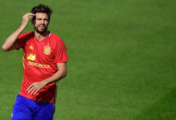 Защитник сборной Испании по футболу Жерар Пике