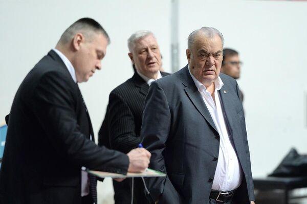 Президент БК УНИКС Евгений Богачев
