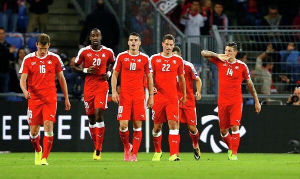 Футболисты сборной Швейцарии