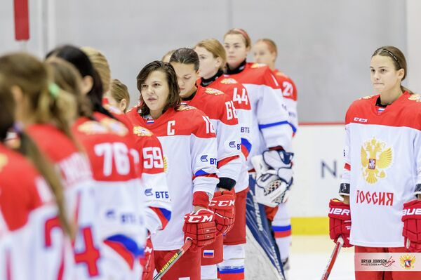 Хоккеистки женской сборной России