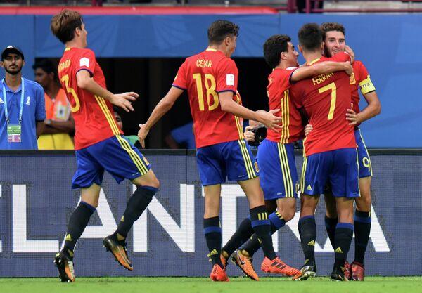 Футболисты сборной Испании (до 17 лет)