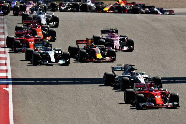Пилоты на дистанции Гран-при США