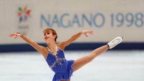 Тара Липински на Олимпийских играх в Нагано