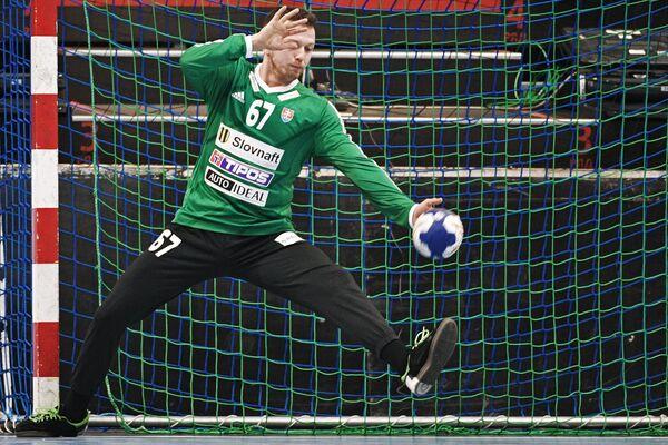 Вратарь сборной Словакии по гандболу Мариан Жернович