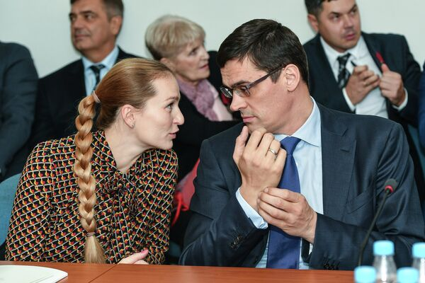 Софья Великая и Александр Попов