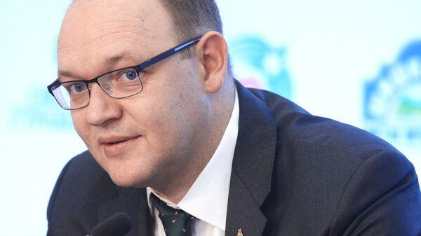 Президент футбольного клуба Локомотив Илья Геркус