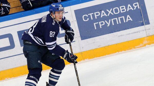 Форвард московского Динамо Владимир Брюквин