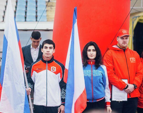 Финалисты национальной премии «Студент года – 2017» прошли испытания ГТО