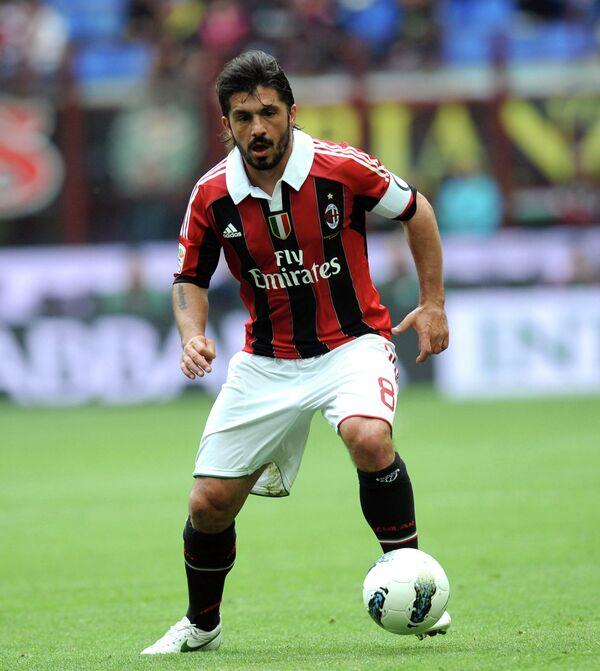 Дженнаро Гаттузо во времена выступлений за Милан