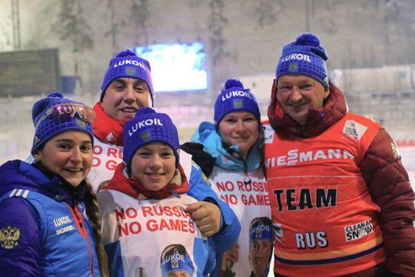 Тренер сборной России по лыжным гонкам Маркус Крамер (справа)