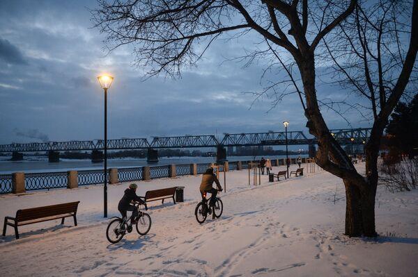 Зима в Новосибирске