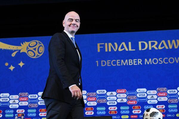 Президент Международной федерации футбола Джанни Инфантино