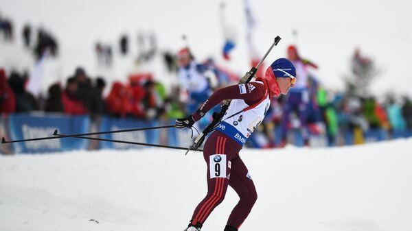 Биатлонистка сборной России Ирина Старых