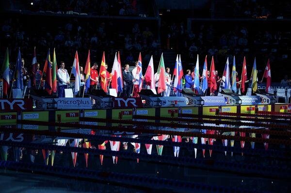 Пловцы на чемпионате Европы на короткой воде