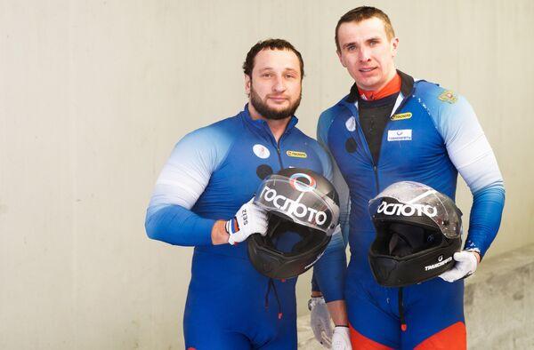 Алексей Стульнев и Кирилл Антюх (слева направо)