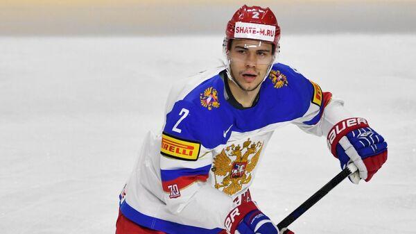 Защитник сборной России Артём Зуб