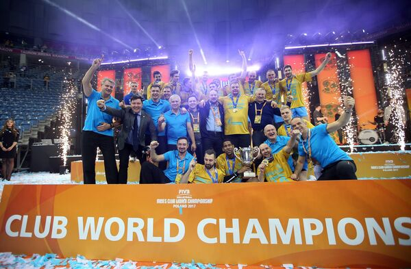 Волейболисты казанского Зенита