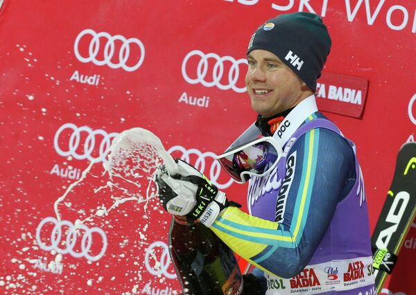 Шведский горнолыжник Маттс Ольссон