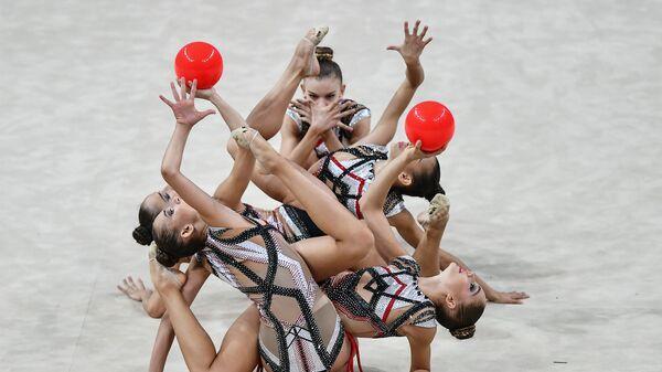 Художественная гимнастика. Чемпионат мира. Четвертый день