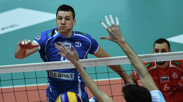 Игрок ВК Динамо Юрий Бережко