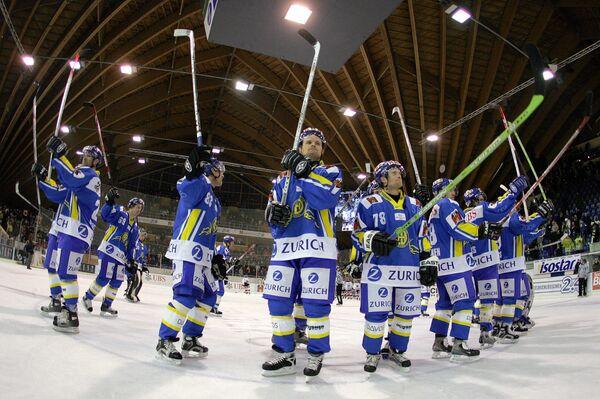 Хоккеисты швейцарского Давоса