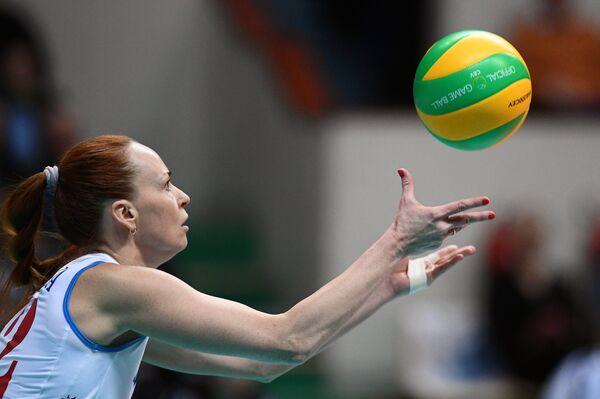 Игрок ВК Динамо Марина Баешина