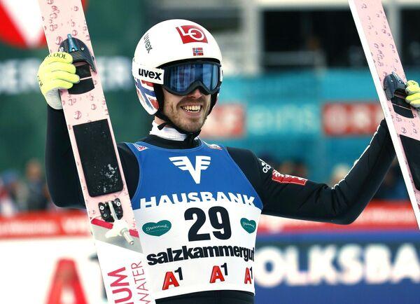Норвежец Андреас Стьернен