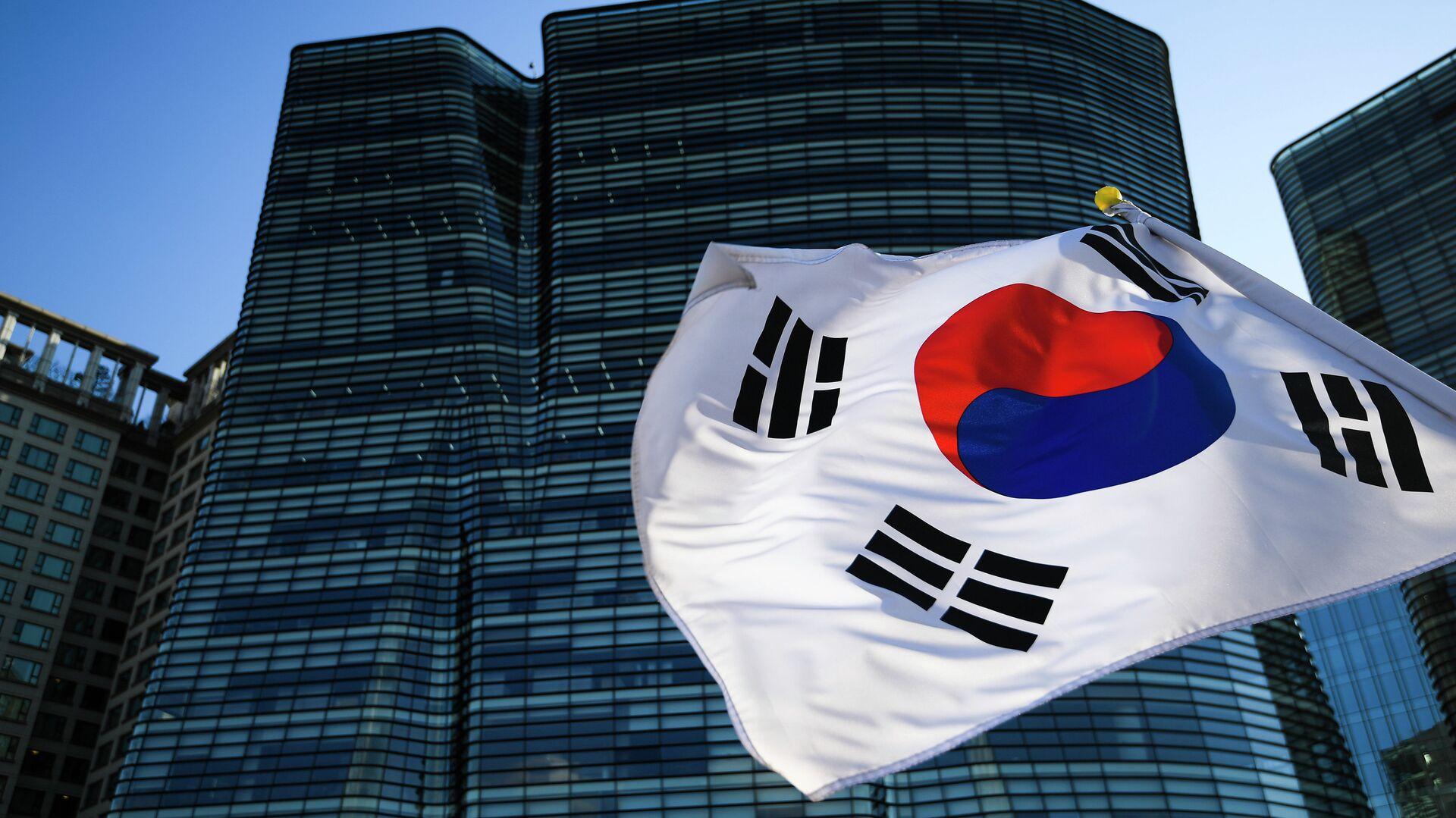 Флаг Республики Корея - РИА Новости, 1920, 01.04.2021