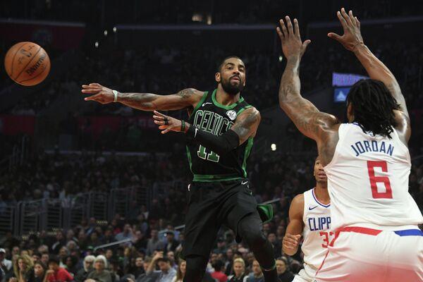 Защитник клуба НБА Бостон Селтикс Кайри Ирвинг