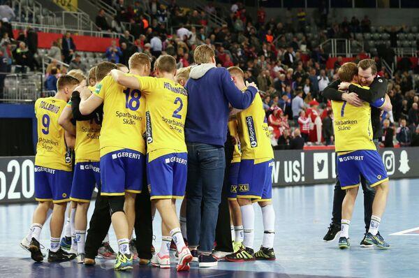 Гандболисты сборной Швеции